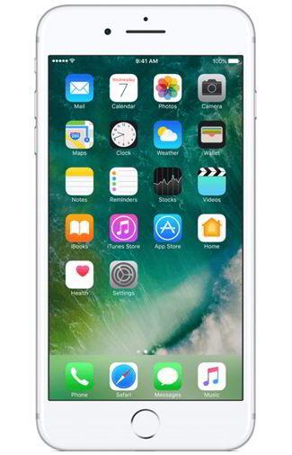 Simlockvrije Apple iPhone 7 Plus 256GB Zilver Prijzen Vergelijken