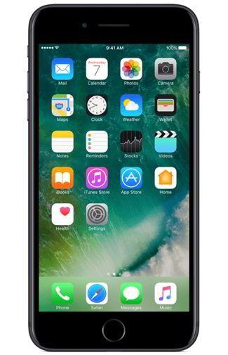 Simlockvrije Apple iPhone 7 Plus Zwart Prijzen Vergelijken